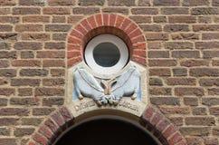 Facade ornamenteation Royalty Free Stock Photo