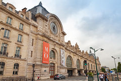 Facade of the Orsay Museum in Paris, France Stock Photo