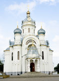 Facade of orthodox church Stock Image