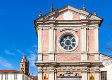 Facade of orthodox church in Alba, Italy. Stock Images