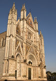 Facade Of The Orvieto Duomo Stock Photos
