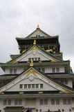 Facade of the Osaka Castle Stock Image