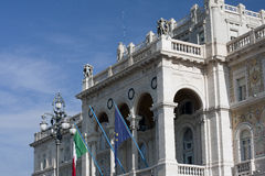 Facade of the palace Royalty Free Stock Photography