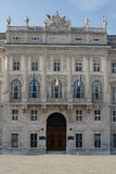 Facade of the palace Stock Photo