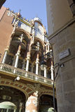 Facade of the Palace of Catalan Music in Barcelona Royalty Free Stock Photos