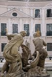 Facade of the Palace of  Esterhazy Royalty Free Stock Photos