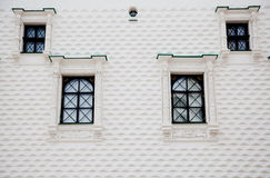 Facade of the Palace of Facets. The facade of the Faceted Chamber of the Moscow Kremlin, built in 1487 - 1491 stock photography