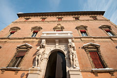 Facade of Palazzo Davia Bargellini, Bologna Royalty Free Stock Photo