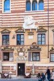 Facade Palazzo della Ragione on Piazza dei Signori Royalty Free Stock Photos