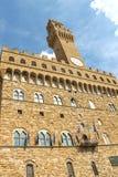 Facade of Palazzo Vecchio. Florence, Italy Royalty Free Stock Photos