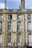 Facade on Parlement Square, Bordeaux Stock Photos