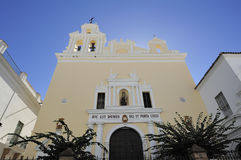 Parroquia del Carmen, Sanlucar de Barrameda, Spain Royalty Free Stock Photos