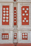 Facade pattern detail of the old house in Moscow. Russia Royalty Free Stock Image