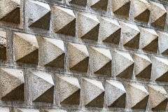 Facade pattern of the Segovia Art Museum Stock Photos