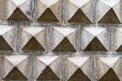 Facade pattern of the Segovia Art Museum Royalty Free Stock Images