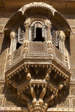 Facade of the Patwa-ki Haveli in Jaisalmer - India Stock Images