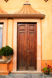 Facade at Pena de Bernal Stock Images