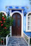 Facade at Pena de Bernal Stock Photo