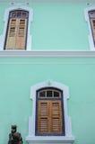 The facade of Penang Peranakan Mansion Stock Images