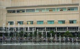 Facade of Petronas Shopping Mall in Kuala Lumpur, Malaysia.  Stock Image