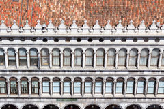 Facade on piazza San Marco Royalty Free Stock Images