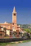 Facade piazza Signoria in Verona, Italy Stock Images