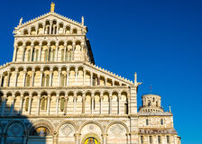 Facade of the Pisa Cathedral Royalty Free Stock Photos