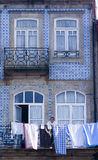 Facade Porto Portugal Royalty Free Stock Images