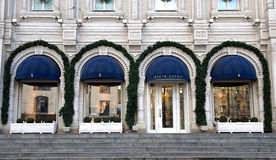 Facade of Ralph Lauren flagship store Royalty Free Stock Image