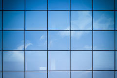 Facade reflection Royalty Free Stock Photography