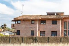 Facade of a residencial house Stock Image