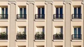 Facade of Residential Building Stock Images