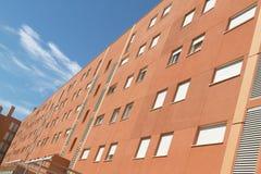 Facade of a residential building Stock Photos