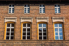 Facade of a residential building in Zabrze Royalty Free Stock Photography