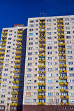The facade of a residential high-rise building Stock Photo