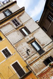 Facade of a residential home in Rome, Italy Stock Photography