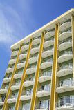 Facade of resort apartments Royalty Free Stock Photography