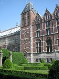 Facade of the Rijksmuseum Royalty Free Stock Photography