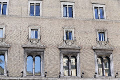 Facade, rome, italy Stock Photos