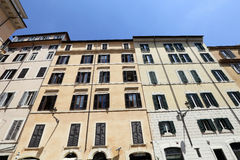 Facade, rome, italy Stock Images