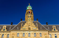 Facade of Rotterdam City Hall Royalty Free Stock Photography