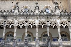 Facade of the Royal hunting palace Stock Photography