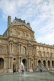 Facade of the royal Louvre palace. PARIS, FRANCE Stock Photos