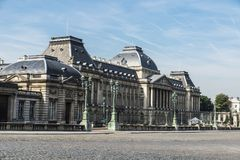 Royal Palace of Brussels in Brussels, Belgium Royalty Free Stock Photography