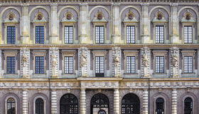 The facade of the Royal Palace Royalty Free Stock Images