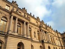 Facade of the royal palace at Versailles near Paris Royalty Free Stock Photo
