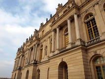Facade of the royal palace at Versailles near Paris Stock Photo