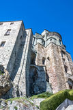 The facade of the Sacra di San Michele, Turin Royalty Free Stock Image