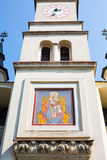 Facade of Saint Nicholas Church in Brasov Royalty Free Stock Photography