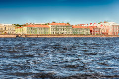 Facade of the Saint Petersburg State University, Russia Royalty Free Stock Photography